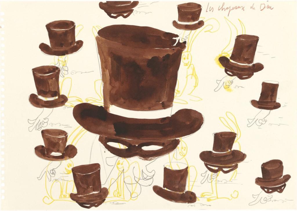 Philippe Vandenberg 2008 God's Hats rabbit chapeaux de Dieu